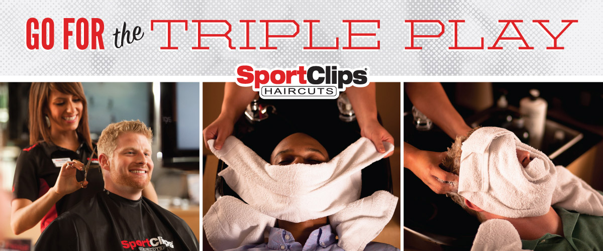 The Sport Clips Haircuts of Sarival Marketplace Triple Play